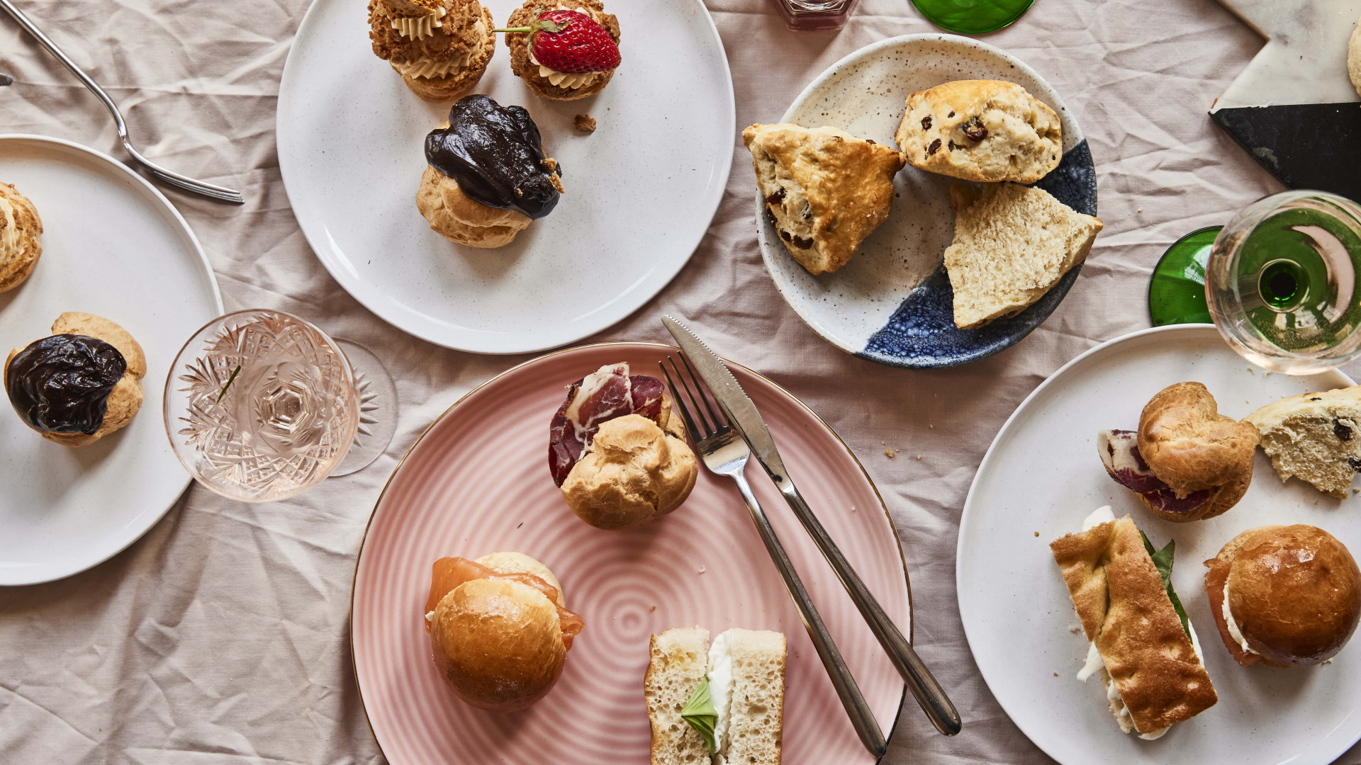 This is an image of The Proof's afternoon tea