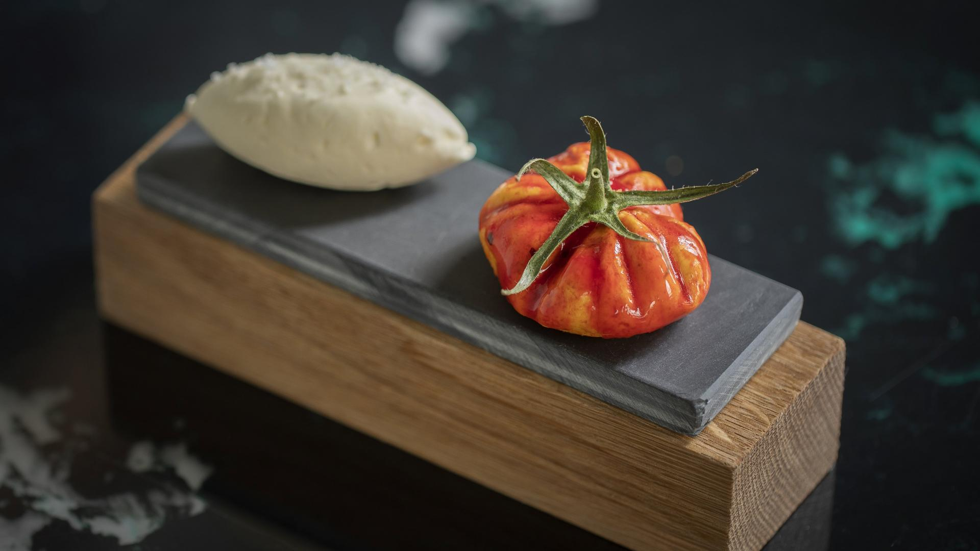 This is an image of the tomato butter at The Princess of Shoreditch