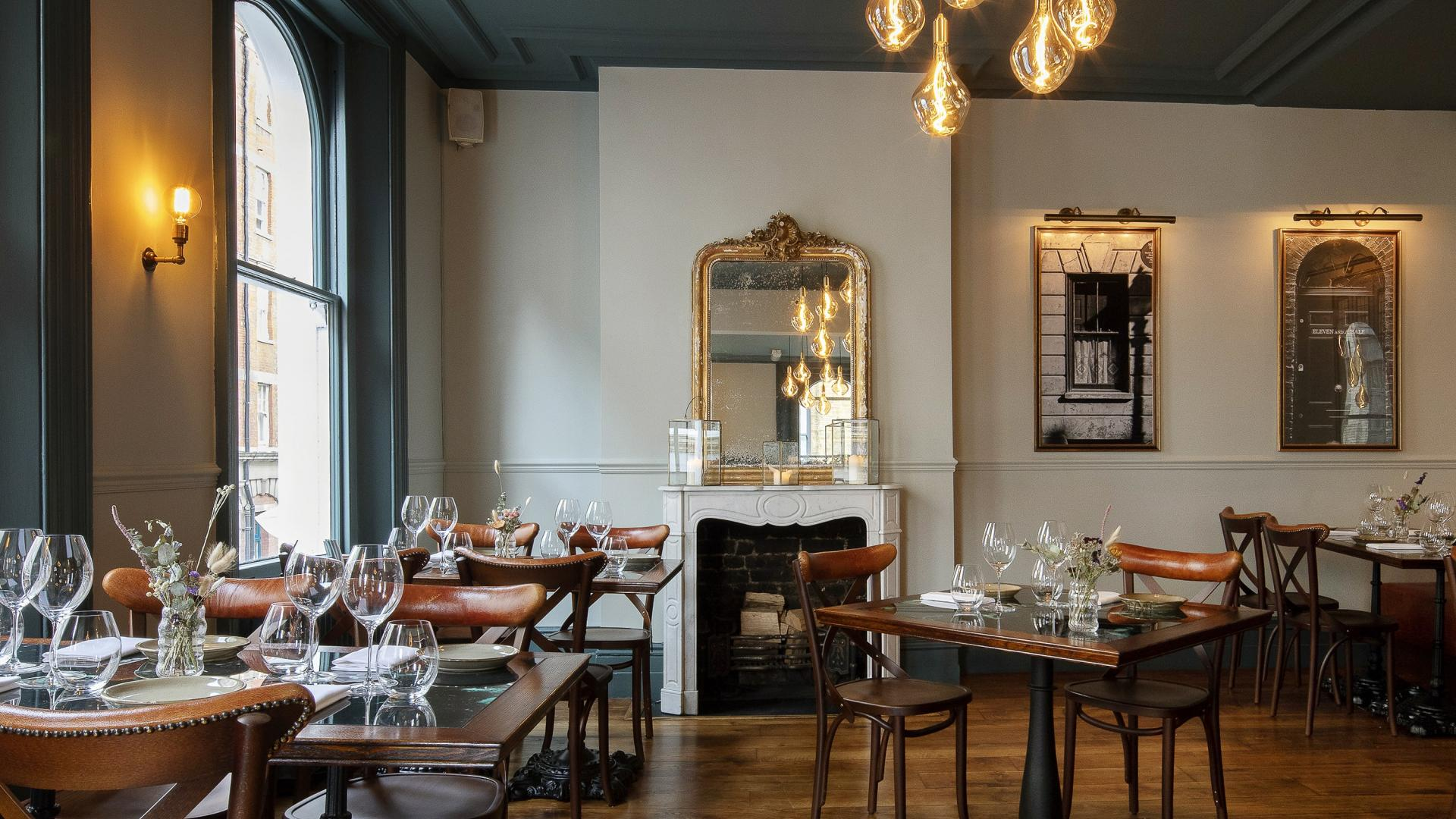 This is an image of the interior upstairs at The Princess of Shoreditch