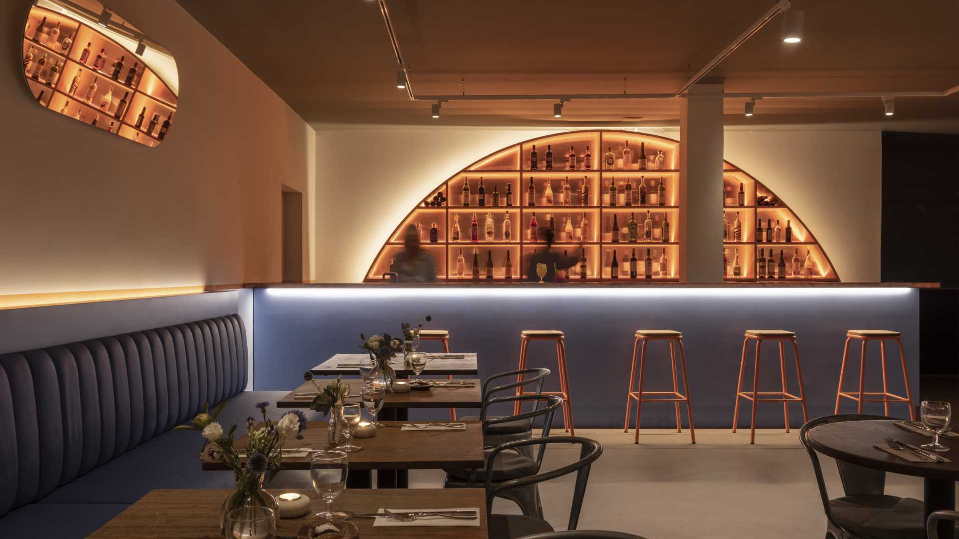 This is a photo of the new downstairs bar at Morito, Hackney Road.